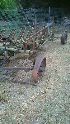 Plough disc antique garden