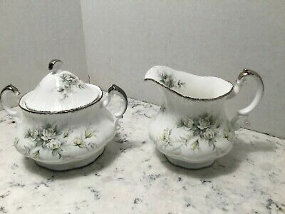 Paragon - First Love - Large Creamer Sugar Bowl With Lid