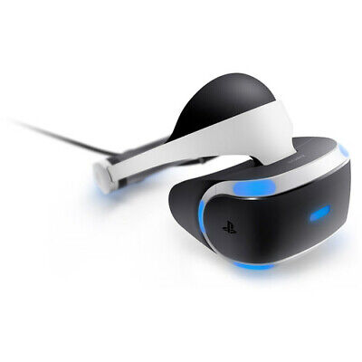 Sony PlayStation VR Virtual Reality CUH-ZVR1 Headset Bundle For PS4 - (READ) VG