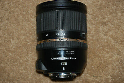 TAMRON SP 24-70mm F/2.8 DI VC USD Lens Ultrasonic Silent Drive