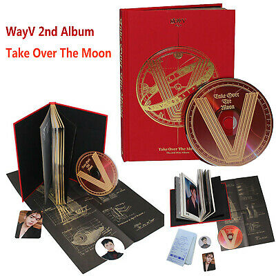 SEALED WAYV WAY V NCT 2nd Album Take Over The Moon CD + Booklet + Photo Card Set