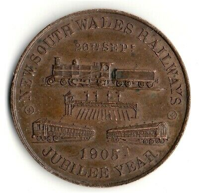 New South Wales Railways Medal 1905
