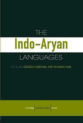 The Indo-Aryan Languages by George Cardona Paperback Book Free Shipping!