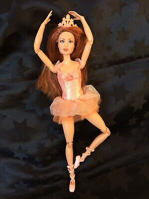 Barbie Hybrid OOAK Ballerina Edeline On A Made To Move Body, In Original Outfit
