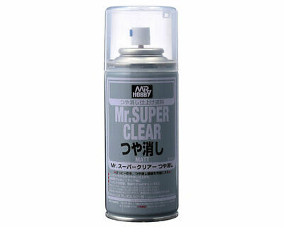 Mr.Hobby/Gunze B514 Mr.Super Clear Matt Spray (170 ml) modellismo