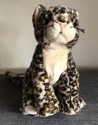"""Ty Beanie Large Sneaky Leopard Cheetah Super Soft Toy 2000 -18"""" Retired Big Cat"""