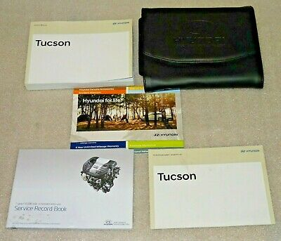 2014-18 Hyundai Tucson Genuine Owner's Manual, Handbook, Hand Book, Service Book