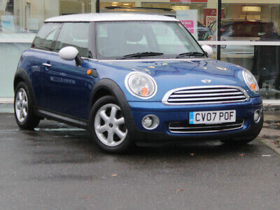 2007 07 MINI 1.6 COOPER 3dr - PEPPER PACK - ONLY 51109 MILES - FANTASTIC COLOUR!