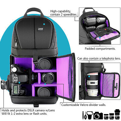 Brand New Neewer Camera Sling Backpack Case DSLR
