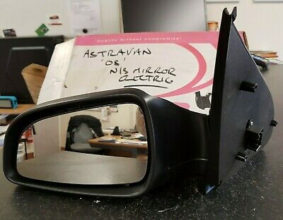 Vauxhall Astra 1998-2004 Door Wing Mirror Electric Heated Primed Passenger Side