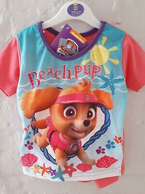 BNWT GIRLS Paw Patrol Short Pyjamas. 18 - 24 months