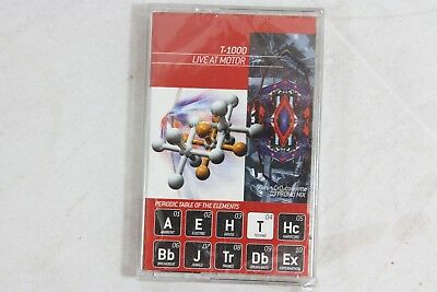 Periodic Table DJ Promo Remix Music Sealed Lot of 5 Cassette Tapes T-1000