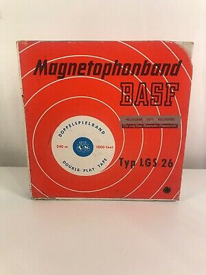 The Jolson Story 1946 Magnetophonband BASF 1800feet Made In West Germany