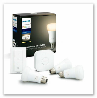 Philips Hue White E27 Bluetooth Starter Kit Neu OVP