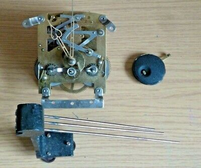 Smiths 1950's ting tang striking movement with hands pendulum & gongs