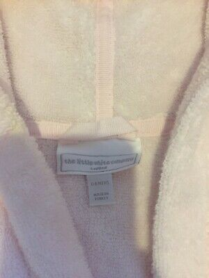 Baby girl pink '' The Little White Company'' dressing gown 0-6 months