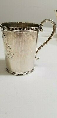 Tiffany & Co. Sterling Silver Cup /Mug  1880'S