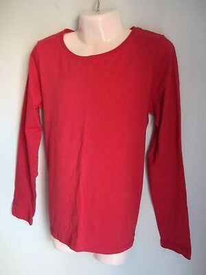 Next Girls Long Sleeve Red Tee T-Shirt - For Ages 10 Years