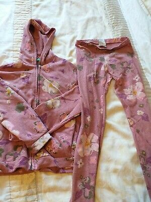 Benetton Leggings And Hoodie age 10-11
