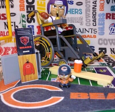 NFL Teenymates Chicago Bears Coach exclusive figure (2019 14-pc boxed set)