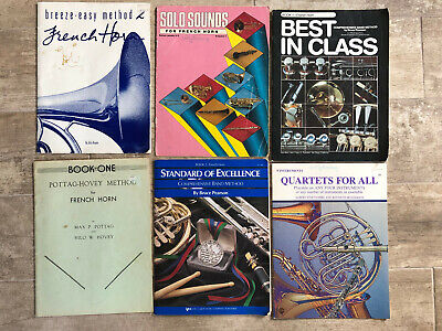 Collection of French Horn Sheet Music