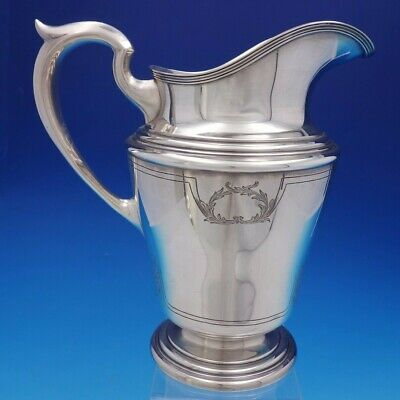 Corinthian by Schofield Sterling Silver Water Pitcher Marked #1391 (#4456)