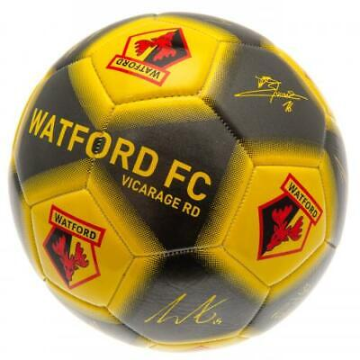 Watford FC Football Signature Size 5 Official Merchandise - NEW