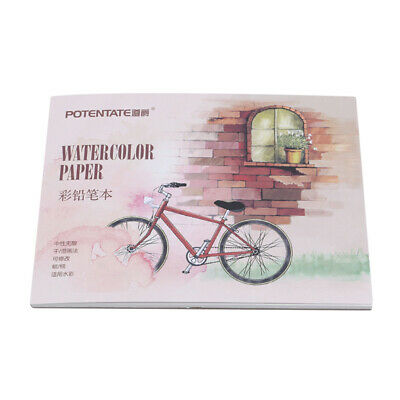 Watercolor Paper Sketch Book Drawing Painting Diary Sketch Office Tool 8C