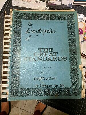 The Encyclopedia of the Great Standards Fake music book