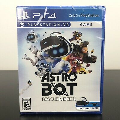 Astro Bot: Rescue Mission (PlayStation VR PS4 VR) - NEW