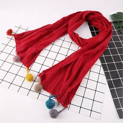 Kids Winter Scarf Warmer Boys Girls Scarves Children Neckerchief Scarf Shawl 8C