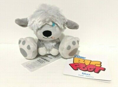 Max the Dog Tiny Big Feet Plush Disney The Little Mermaid New with Tags