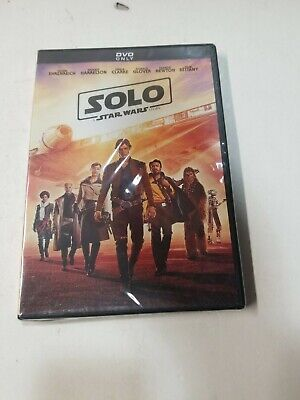 Solo: A Star Wars Story DVD Brand New Sealed