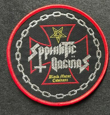 "Syphilitic Vaginas ‎""Black Motor Covenant Red Patch abigail-tragedy-gauze-doom"