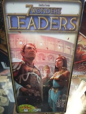 7 Wonders Leaders Expansion Repos Production Games Board Game New! Seven Wonders