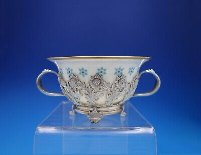 Chrysanthemum by Tiffany & Co. Sterling Silver Bouillon Cup with Liner (#4478)