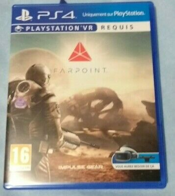 Farpoint - Playstation 4 PS4 VR PSVR PAL FR Plays Fully in English