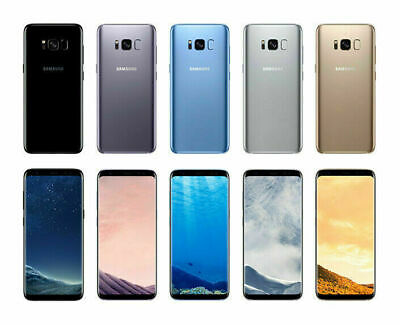 """Samsung Galaxy S8+ G955U 64GB 6.2"""" AT&T T-Mobile GSM Unlocked Android Smartphone"""