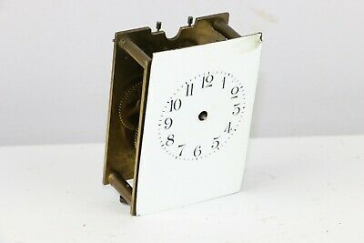 Antique French Brass Carriage Clock - Untested For Parts Only