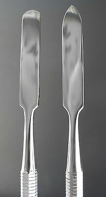 Deluva 10661 Stainless Steel Cosmetic Mixing Spatula DOUBLE-End makeup