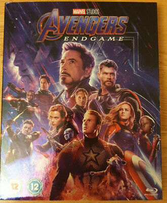 Marvel Studios Avengers: Endgame (Blu-Ray - Brand New & Sealed)