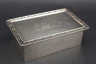 Authentic Bailey Banks & Biddle Co Sterling Silver Desktop Storage Box, NR