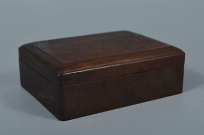 M1945: Japan Old Wooden CONTAINER for article Accessories Case Box Tea Ceremony