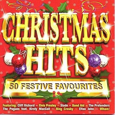 Christmas Hits: 50 Festive Favourites, Various Artists, Very Good