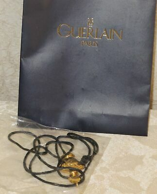GUERLAIN Paris SHALIMAR Perfume BOTTLE Necklace