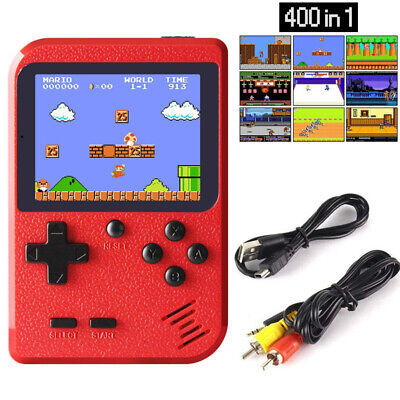 Mini Retro Handheld Box Game Console SUP Built-in 400 Classic Games Boys Gift