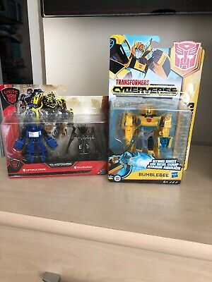Transformers Brand New Bumble Bee & Optimus Prime