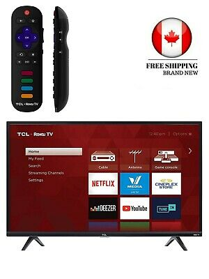 """TCL 32S325-CA 720p Smart LED Television (2019), 32"""""""