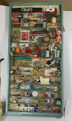 Printers Tray Box Pop Art Work Mixed Media Original Every Home Should Have One