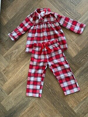 x2 18-24 months girls christmas pyjamas
